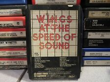 WINGS At The Speed of Sound (8-Track Tape)