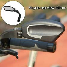 Bicycle Bike Cycle Handlebar Left Rear View Rearview Mirror Rectangle Back UK