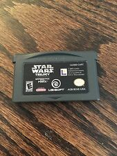 Star Wars Trilogy Nintendo Gameboy Advance GBA Game Cart