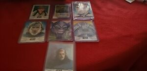 2019 Skywalker Saga Lot of Artist Cards and Wicket /5 Auto