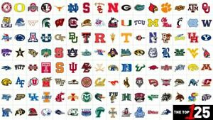 "2020 NCAA Football Teams Schedule Fridge Magnets 5"" X 3.5""(Choose From List)"