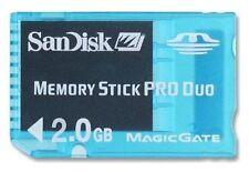 Memory Stick PRO Duo * 2 GB * SANDISK