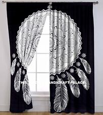 Dream Catcher Mandala Door Window Balcony Hanging Curtain Indian Drape Valances