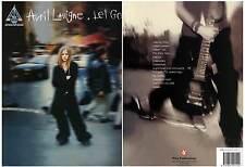 """AVRIL LAVIGNE """"Let Go"""" 13 Titres (PARTITIONS / SHEET MUSIC) 2003"""