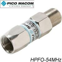 Pico Macom Tru Spec HPFO-54MHz Digital Cable Filter HD High Pass Filter - NEW