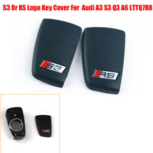 S3/RS Logo Car Remote Key Cover Protective Case Fit For Audi A3 S3 Q3 A6 LTTQ7R8