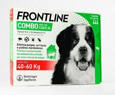 FRONTLINE COMBO Flea Tick Lice Treatment Dog 40/60kg (88/132lb) (ie)