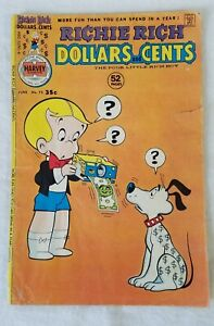 June 1976 Richie Rich Dollars and Cents Comic Book No. 73