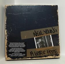 "NEIL YOUNG A Letter Home BOX SET VINYL 2xLP, 7x CLEAR 6"" Singles CD DVD SEALED"