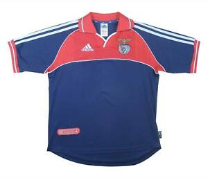 Benfica 2000-01 Authentic Away Shirt (Excellent) Y Soccer Jersey