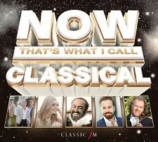 VARIOUS - NOW THAT'S WHAT I CALL CLASSICAL 3CD ALBUM SET (2015)