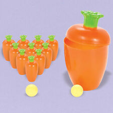 Easter Carrot Bowling Party Game