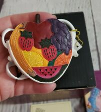 Just The Right Shoe Fruity Purse 25321 Mini Collectible 2000 Beverly Feldman