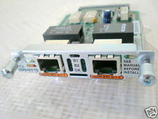 Cisco vic2-2bri-nt/te 2pt voice I/F CARD Bri NT and TE