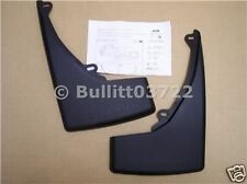 2005 2006 2007 2008 2009 FORD MUSTANG V6 MOLDED MUD FLAPS REAR 2 PIECE SET