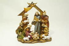 Traditional Christmas Festive Nativity Figurine Set