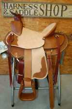 "15"" G.W. CRATE WADE RANCH ROPING SADDLE FREE SHIP NEW MADE IN ALABAMA USA"
