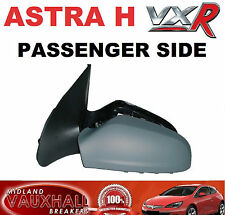 VAUXHALL ASTRA H MK5 VXR ELECTRIC WING MIRROR PASSENGER NEAR SIDE PRIMED COVER