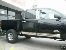 04-07 TITAN KING CAB STAINLESS  ROCKER PANELS