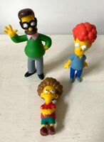 The Simpsons Figures Bundle Fox 2007 Matt Groening x 3 Flanders Family
