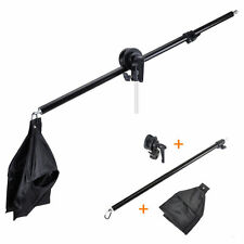 Hairlight Heavy Duty Photo Video Studio Light Boom Arm + Grip Clamp+ Sandbag kit