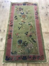 Antique Art Deco  Chinese Size:180x92 Cm RUG CARPET Handmade