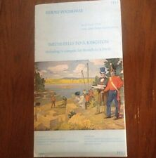Small Craft Navigation Charts RIDEAU WATERWAY, Smith Falls to Kingston, 1978 NEW