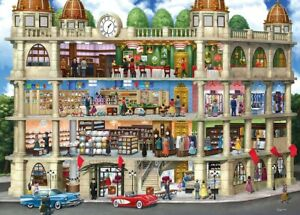Jigsaw Puzzle Inside Out Field's Store Before there were Malls 1000 pieces NEW
