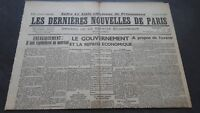 Newspapers the Last European Nouvelles de Paris N°28 July 1940 ABE