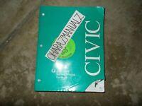 2002 2003 2004 HONDA Civic Hatchback Service Manual OEM