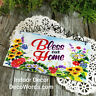 Bless Our Home * Wood Sign *  USA * DecoWords * Indoor Decor