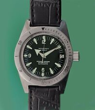 Vintage 1960's WAKMANN 999 feet  NAUTOSCAPH  Divers men's Automatic Watch