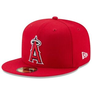 Los Angeles Angels New Era Authentic On-Field 59FIFTY Fitted Hat - Red