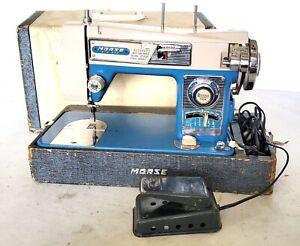 Morse Fotomatic III 4300 Zig Zag Heavy Duty Sewing Machine W/Pedal & Case