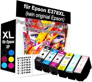 Patronen TE378XL für Epson XP-8500 XP-15000 XP-8000 XP-8005 XP-8505