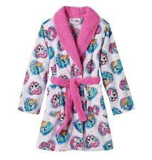 My Little PONY Bathrobe Girl's 8 NeW Plush Bath Robe Rainbow DASH Pinkie Pie NWT