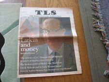 1997 TLS Barbara Everett on Philip Larkin, Seamus Heaney, Hart Crane, Walcott
