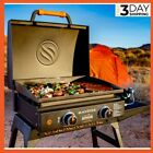 New ! Adventure Ready 22-in Portable Griddle With Stand And Bulk Adapter Hose