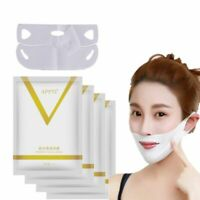 V-Shaped Slimming Mask Anti Wrinkle Chin Neck Line Cheek Lift Up Slim 1/4 PCS