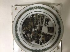 "Department 56 Christmas Classic Collector Plate ~ No. VII  "" Shoveling Away"