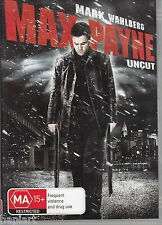Max Payne / Mark Wahlberg / Uncut - DVD REGION 4