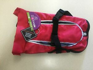 Petrageous Designs Dog Jacket Red And Black Protects Chest S New