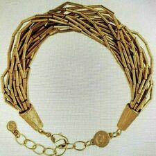 Spartina 449 18K Matte Goldtone Luxe Bead Bracelet