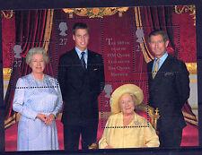 GB 2000 QUEEN MOTHER'S 100th BIRTHDAY QEII MINIATURE SHEET MNH