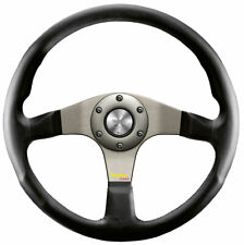 Momo Tuner leather Steering Wheel 320mm SILVER 11110332111 ORIGINAL with ABE