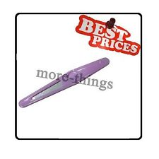 Cosmética plástico rosado lima de uñas herramienta del arte del clavo