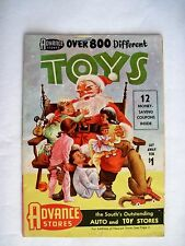 "Darling 1957 ""Advance Stores"" Christmas Toy Catalog w/ Great Colored Pictures *"