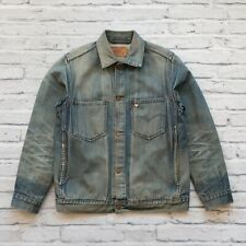 Levis Distressed Denim Trucker Jean Jacket 705011-04 Type 2