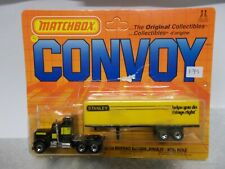 matchbox convoy cy9 kenworth conventional box truck stanley 1983
