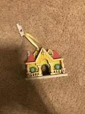 New Disney 2020 Mickey Toon Town House Attraction Miniature Holiday Ornament